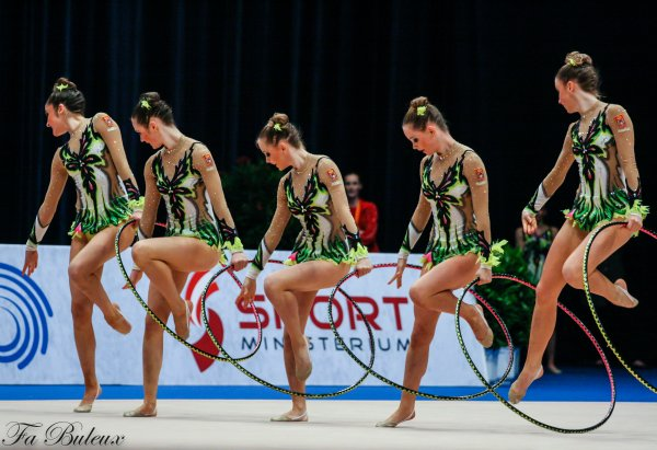 European Championships 2013 - CG Ensemble Junior - Serbie