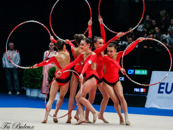 European Championships 2013 - CG Ensemble Junior - France