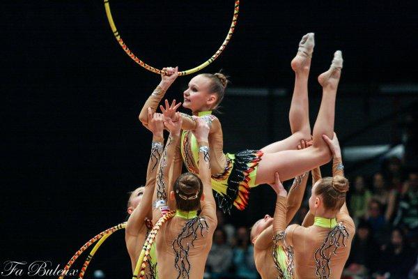European Championships 2013 - CG Individual - Ensemble Junior - Lettonie