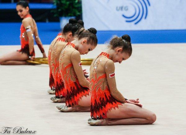 European Championships 2013 - Ensemble Junior - Bulgarie