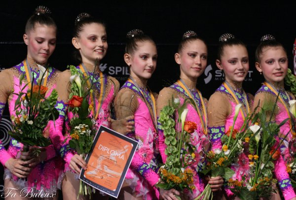 European Championships 2013 - Ensemble Junior - Palmarès