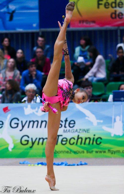 Tournoi Corbeil-Essonnes 2013 - Anna Afuxenidia (KAZ)