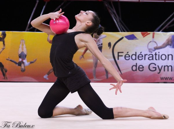 Coupes Nationales 2013 - Seniors - Lucille Chalopin