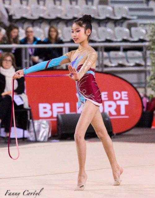 Championnat de France National B Minime - 19ème Lilou Leriche