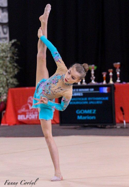 Championnat de France National B Minime - 18ème Marion Gomez