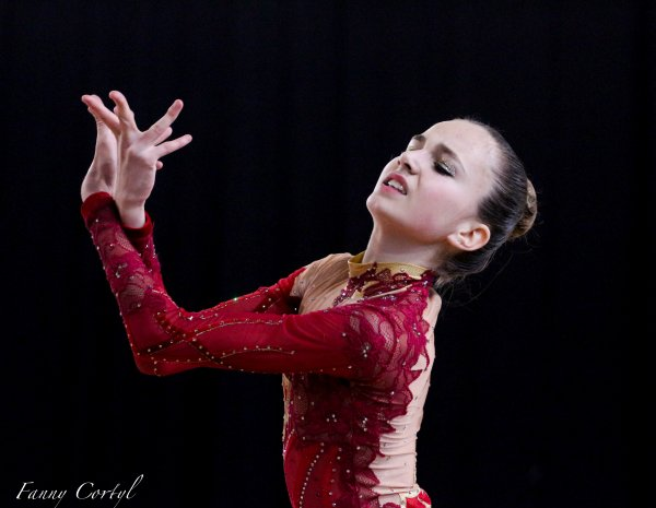 Championnat de France National B Minime - 16ème Emma Simo