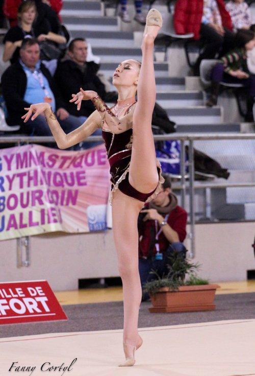 Championnat de France National B Minime - 15ème Léa Laffont