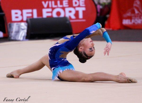 Championnat de France National B Minime - 13ème Flora Bertrix