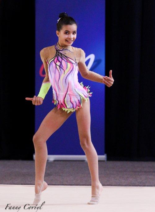 Championnat de France National B Minime - 11ème Leelou Dobrazic