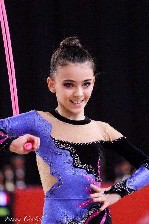 Championnat de France National B Minime - 5ème Eva Antoine