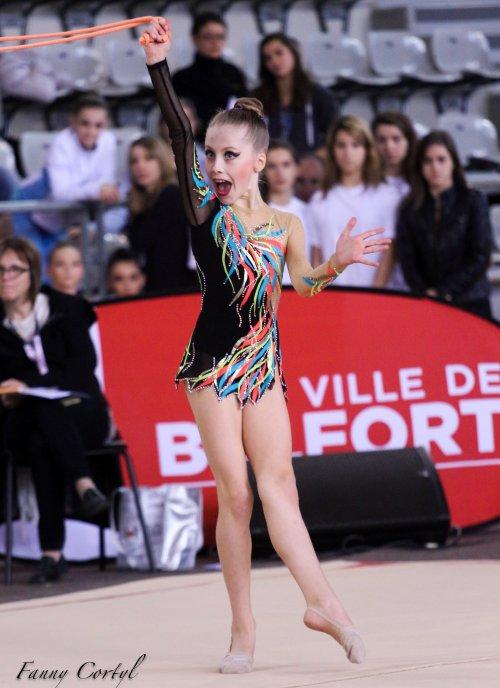 Championnat de France National B Minime - 5ème Mathilda Ricard
