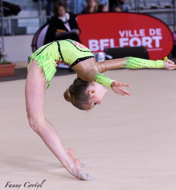 Championnat de France National B Minime - 3ème Mathilde Monnin