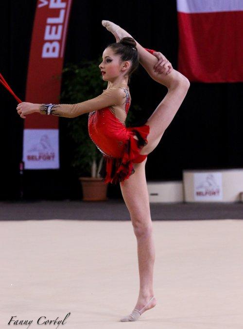 Championnat de France National B Minime - 2ème Alice Vatry