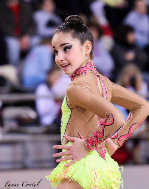 Championnat de France National B Minime - 1ère Léonie Beaudouin