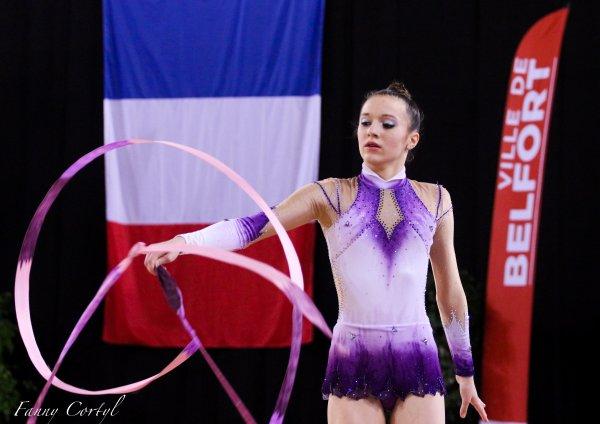 Championnat de France National B Cadette : 29ème Justine Guillaud