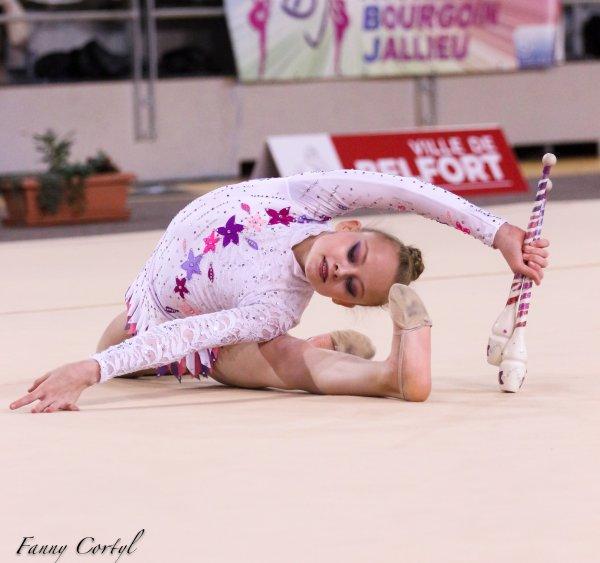 Championnat de France National B Cadette : 25ème Louise Fournier