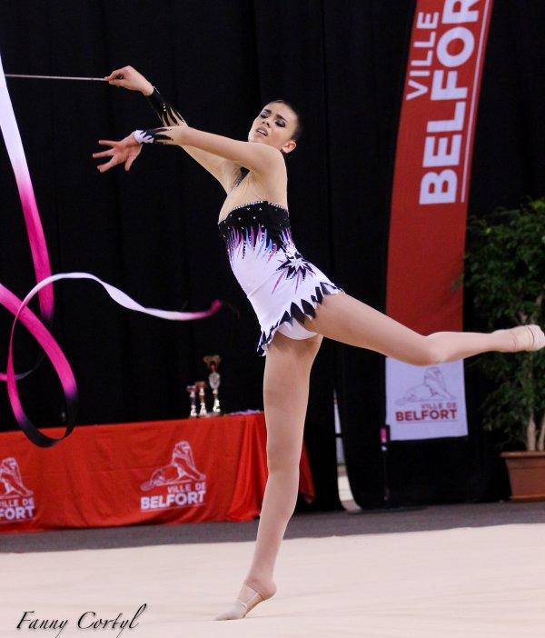 Championnat de France National B Cadette : 21ème Florence Biette