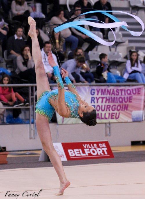 Championnat de France National B Cadette : 20ème Lika Kipiani