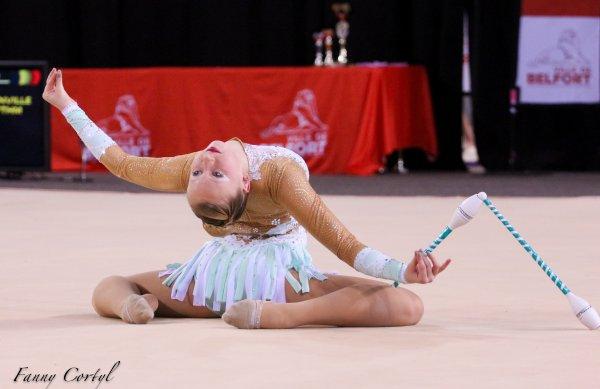 Championnat de France National B Cadette : 19ème Amélia Munck