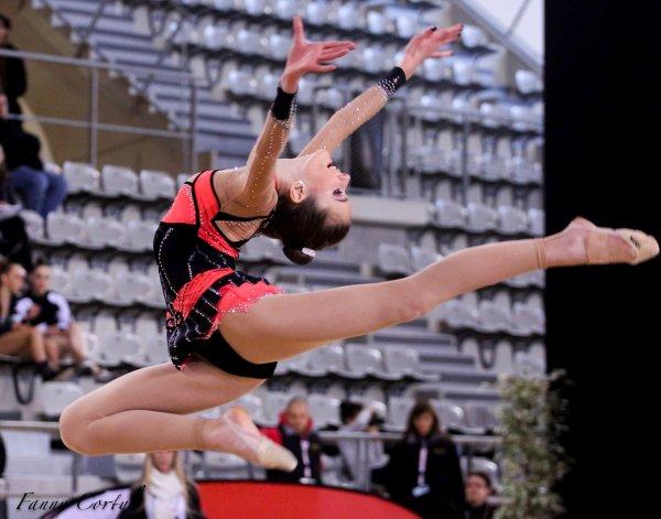 Championnat de France National B Cadette : 17ème Orianne Begon