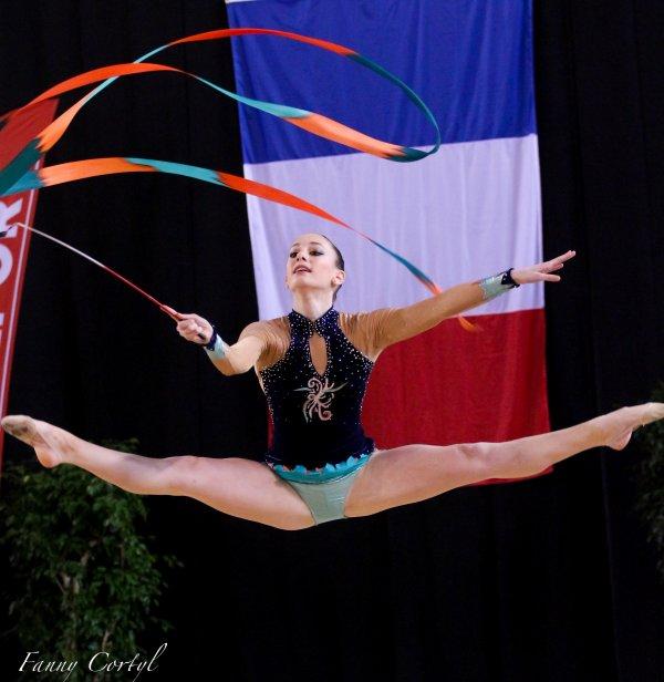 Championnat de France National B Cadette : 16ème Léa Zanon