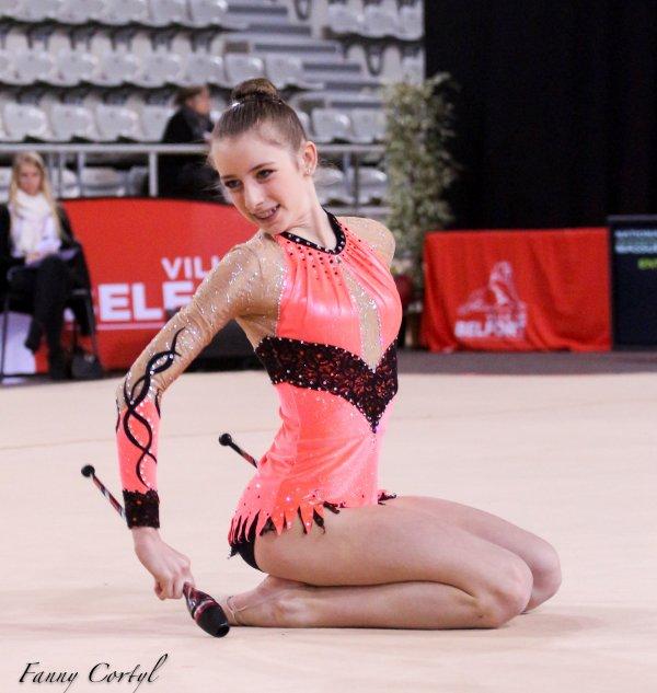 Championnat de France National B Cadette : 14ème Emilie Oddoero