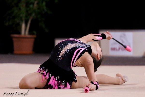 Championnat de France National B Cadette : 13ème Laurine Girard
