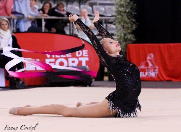 Championnat de France National B Cadette : 9ème Lisa Kohler