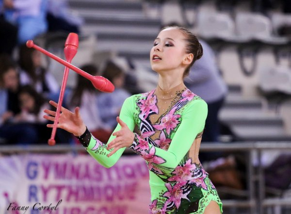 Championnat de France National B Cadette : 5ème Anastasia Kosareva