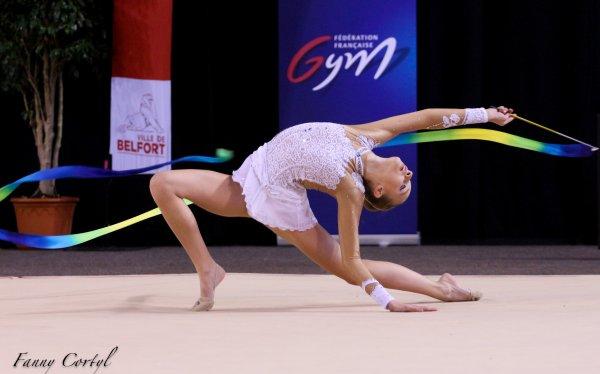 Championnat de France National B Cadette : 1ère Laura Seys