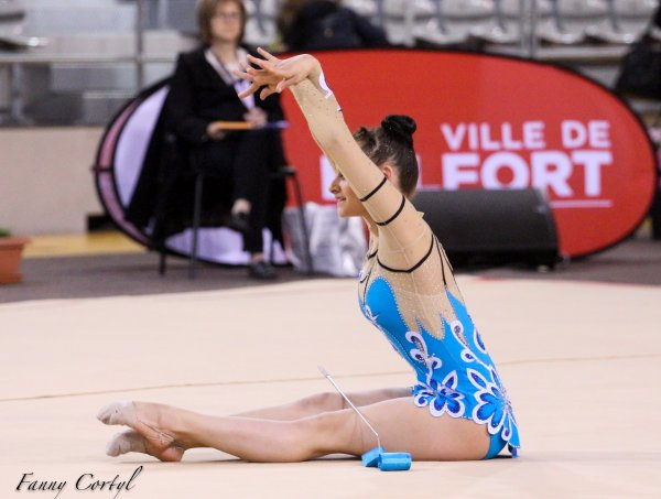 Championnat de France National B Junior - 22ème Emma Cavalière