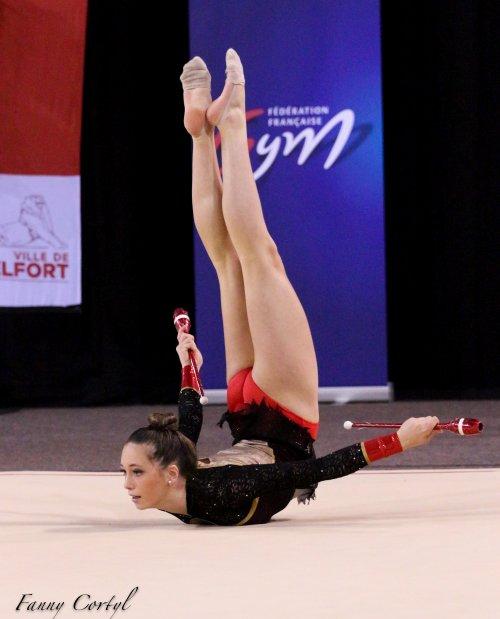Championnat de France National B Junior - 19ème Audrey Julia