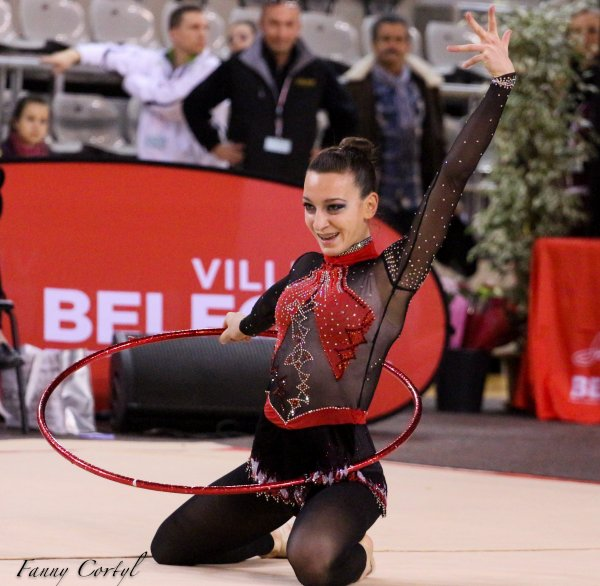 Championnat de France National B Junior - 8ème Canelle Coppin