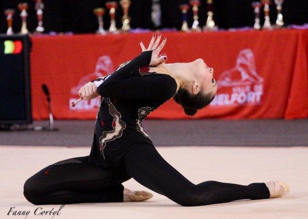 Championnat de France National B Senior - 9ème Sabina Souiounova