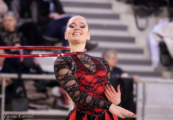 Championnat de France National B Senior - 6ème Lorène Anxionnaz