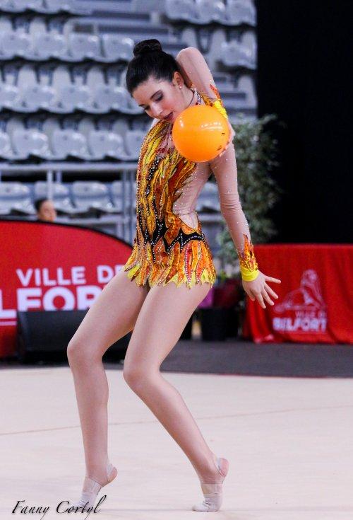 Championnat de France Fédérale Cadette - 27ème Emma Le Burel
