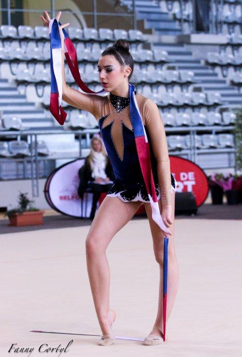 Championnat de France Fédérale Cadette - 25ème Lisa Rognon
