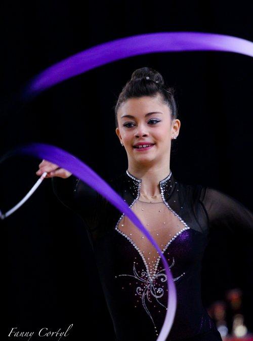 Championnat de France Fédérale Cadette - 22ème Emma Victorin-Feugas