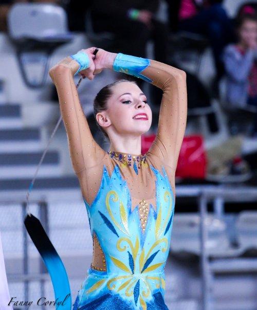 Championnat de France Fédérale Cadette - 13ème Julie Cotinet