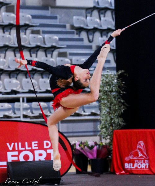 Championnat de France Fédérale Cadette - 5ème Juliette Montbarbon