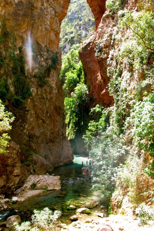anice-2M Akchour and the bridge of Allah - Morocco