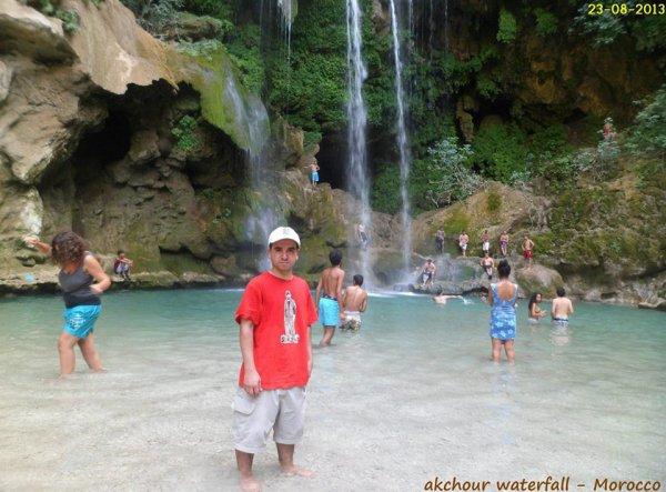 anice-2M Akchour Waterfall - Morocco 2013
