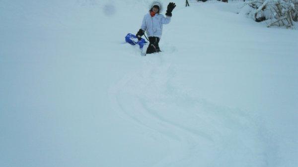 Moi à la neige