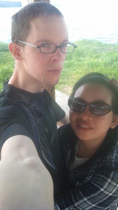 ma fiancée and me ^__^