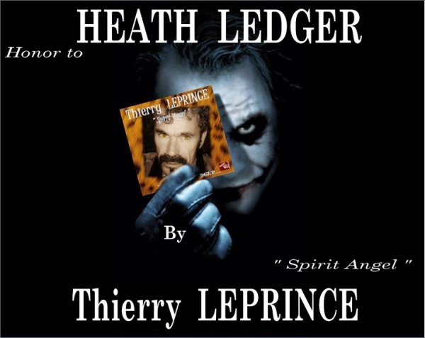 HEATH LEDGER Light by THIERRY LEPRINCE