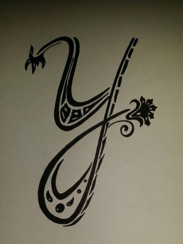 lettre y calligraphie Calligraphie lettre Y   Blog de DessinsDuneReunionnaise lettre y calligraphie