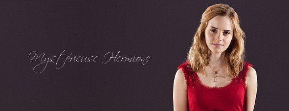 Mystérieuse Hermione