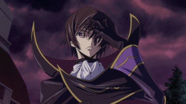 Lelouch Vi Britannia le leader de l'ordre des chevaliers noirs