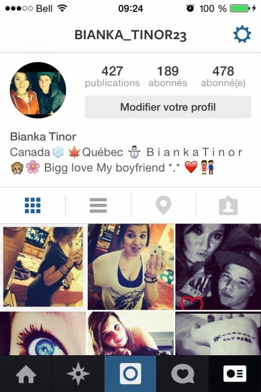Instagram... Bianka_Tinor23