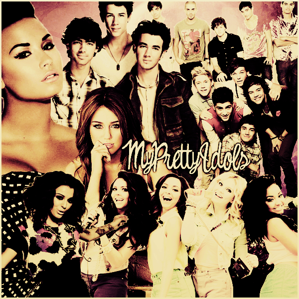 Bienvenue sur MyPrettyIdols ◊ Ta source sur Demi Lovato, Miley Cyrus, Cher Lloyd, Little Mix, One Direction, Jonas Brothers et The Wanted.